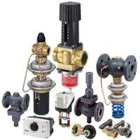 Клапаны и приводы Danfoss