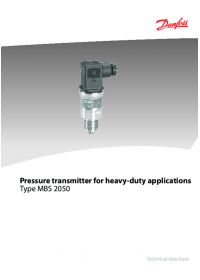 Pressure transmitter for heavy-duty applications type MBS 2050.pdf