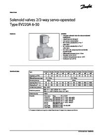Data sheet Solenoid valves 22-way servo-operated Type EV220A 6-50.pdf