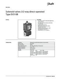 Data Sheet Solenoid valves 32-way direct-operated Type EV310B.pdf