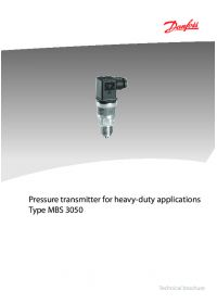 Pressure transmitter for heavy-duty applications type MBS 3050.pdf