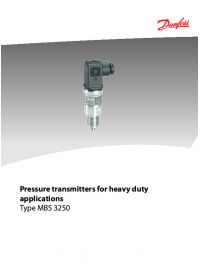 Pressure transmitters for heavy duty applications type MBS 3250.pdf