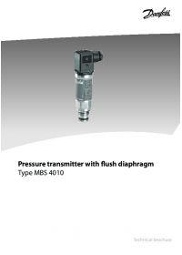 Pressure transmitter with flush diaphragm type MBS 4010.pdf