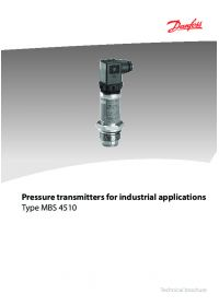 Pressure transmitters for industrial applications type MBS 4510.pdf