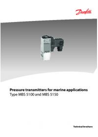 Pressure transmitters for marine applications type MBS 5100 and MBS 5150.pdf