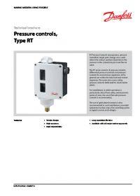Technical brochure pressure controls type RT.pdf