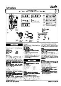 Instructions Pressure Switches RT 5 RT 110 RT 112 RT 116 RT 117 RT 121 RT 200.pdf