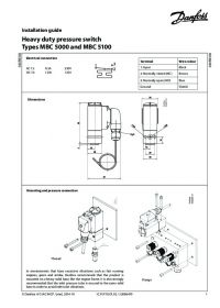 Керівництво по монтажу heavy duty pressure switch types MBC 5000 and MBC 5100 (Installation Guide).pdf