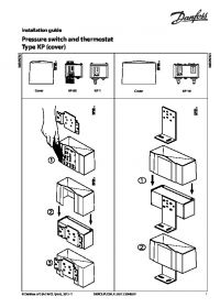 Керівництво по монтажу pressure switch and thermostat Type KP (cover) (Installation Guide) .pdf