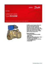 Data Sheet Solenoid valve Type EV220W.pdf