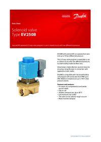 Data Sheet Solenoid valve Type EV250B (Технический паспорт).pdf