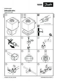 Керівництво по монтажу Solenoid valve Type EV310A (Installation Guide).pdf