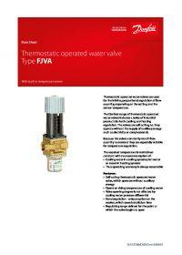 Data Sheet Thermostatic operated water valve Type FJVA.pdf