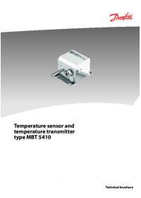 Temperature sensor and temperature transmitter type MBT 5410.pdf