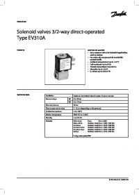 Data Sheet Solenoid valves 32-way direct-operated Type EV310A.pdf