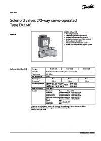 Data Sheet Solenoid valves 22-way servo-operated Type EV224B.pdf