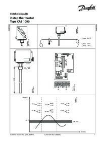 Руководство по монтажу Installation guide 2-step thermostat type CAS 1080 (Installation Guide).pdf