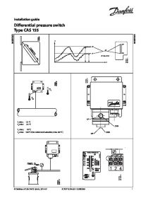 Руководство по монтажу differential pressure switch Type CAS 155 (Installation Guide).pdf