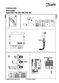Руководство по монтажу thermostat types CAS 178 CAS 180 CAS 181 (Installation Guide).pdf
