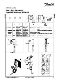 Руководство по монтажу heavy duty thermostat types MBC 8000 and MBC 8100 (Installation Guide).pdf