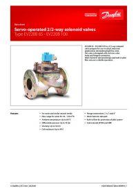 Data sheet Servo-operated 2/2-way solenoid valves Type EV220B 65 - EV220B 100.pdf