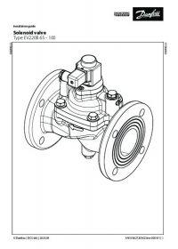 Руководство по монтажу Solenoid valve Type EV220B 65 - 100  (Installation Guide).pdf