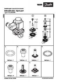 Руководство по монтажу Solenoid valve - Spare part Type EV250B-BW (Installation Guide).pdf