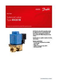 Data Sheet Solenoid valve Type EV251B.pdf