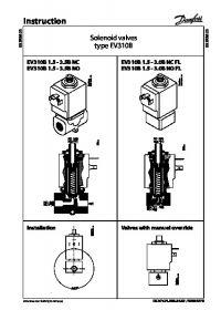 Instruction Solenoid valves type EV310B (Інструкція).pdf