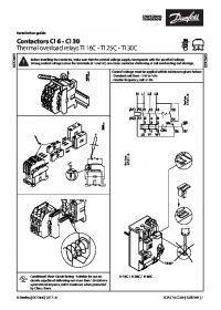 Руководство по монтажу Contactors CI 6 - CI 30 Thermal overload relays TI 16C - TI 25C - TI 30C (Installation Guide).pdf