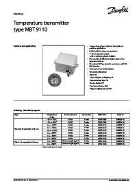 Data Sheet Temperature transmitter type MBT 9110.pdf