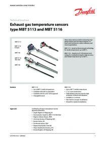 Technical brochure exhaust gas temperature sensors type MBT 5113 and MBT 5116.pdf