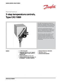 Техническая брошура 2-step temperature controls type CAS 1080(Technical brochure).pdf
