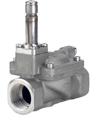 EV222B, Двухпозиционные двухходовые электромагнитные клапаны с сервоприводом и изолирующей мембраной