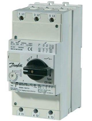 CTI 100, Автоматический выключатель со встроенным ограничителем тока