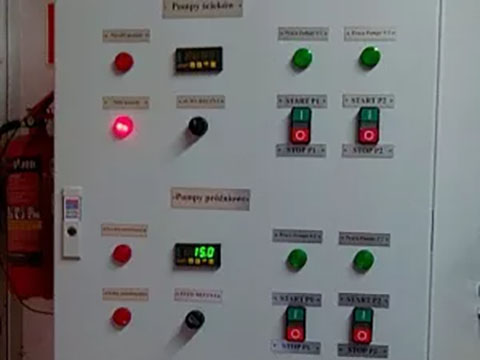 Шафи керування насосними агрегатами (02.2016)