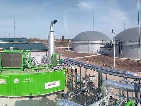 Електромонтаж кабелю для біогазової станції потужністю 1.5 МВт